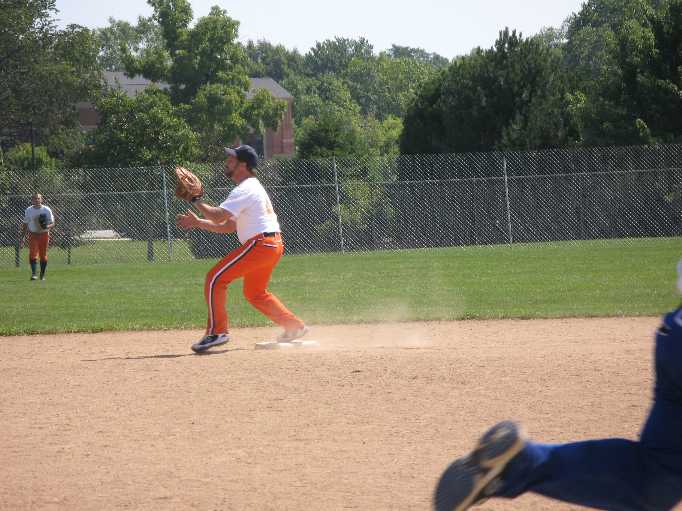 Dale rolls a double play. Nice!