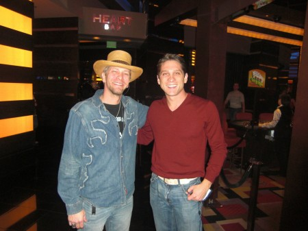 Kevin Skinner and me in the Planet Hollywood Casino. I should come here more often!