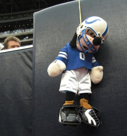 Indianapolis Colts Doll