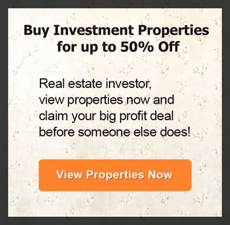 Buy Investment Properties for 50% off