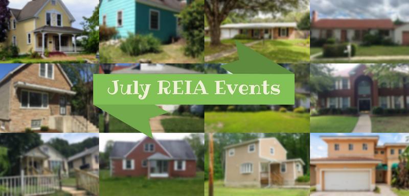 july real estate investor meetings