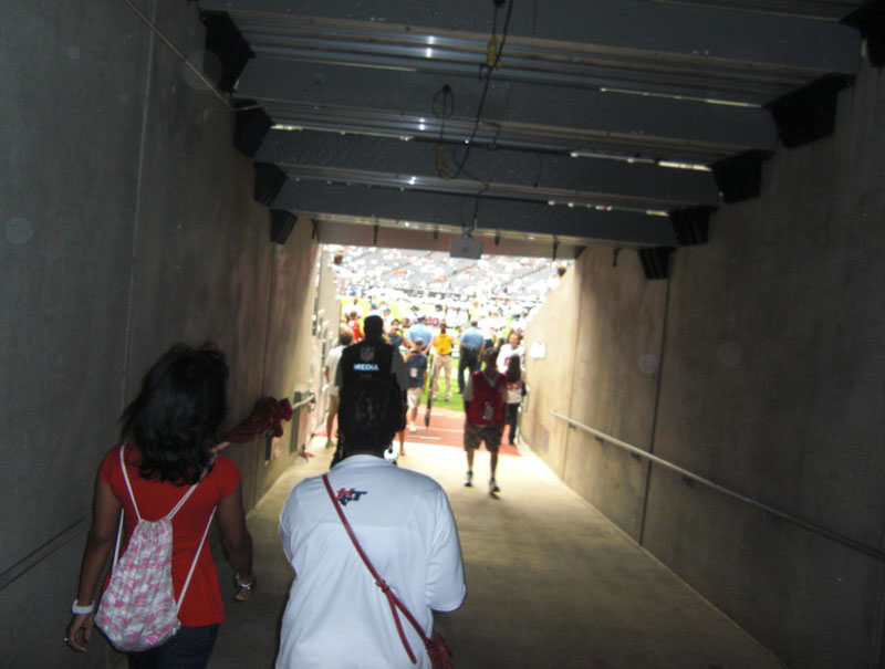 Houston Texans Tunnel