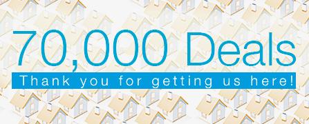 Celebrating 70,000 Deals!