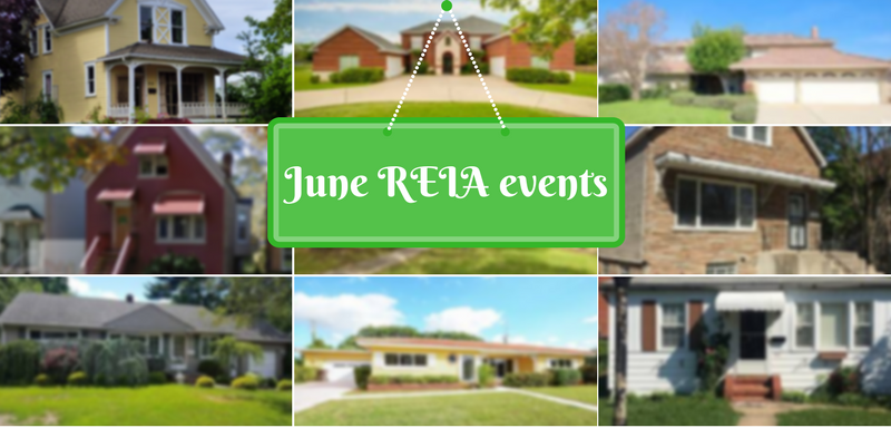 June real estate investor meetings
