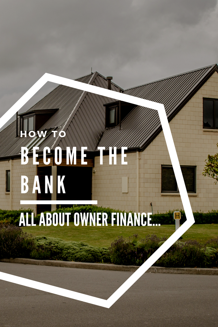 Many people want to buy houses instead of renting, but simply can't get the bank to give them a loan or mortgage. But what if you could solve this problem by becoming the bank yourself?