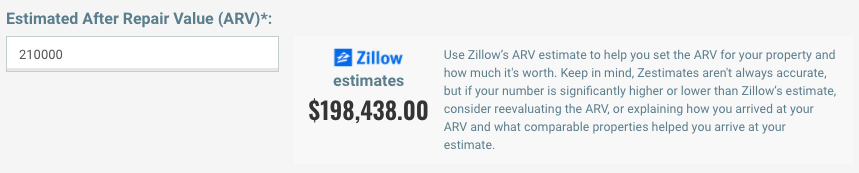 myhousedeals property zillow estimate