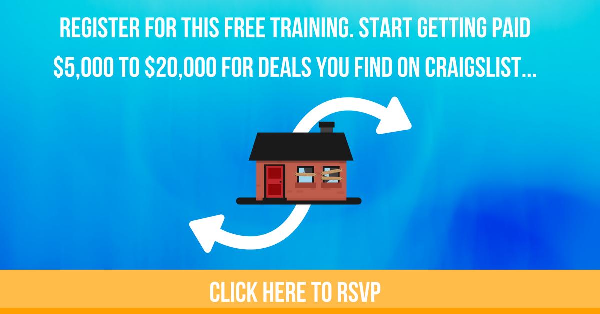 flipping houses on craigslist