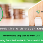 Commercial Real Estate Investing Facebook Live